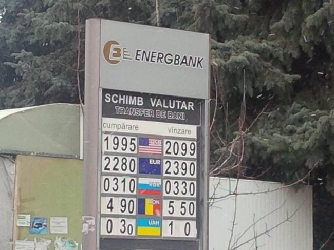 curs valutar md energbank