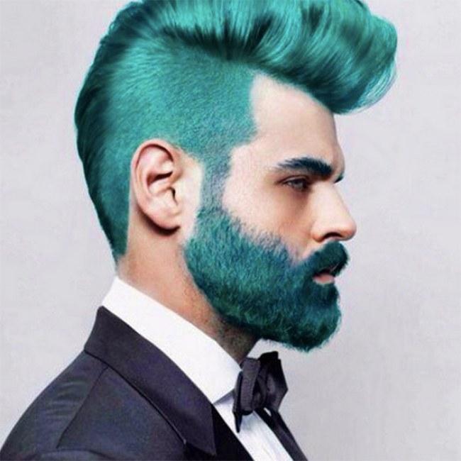 Noua Moda Printre Hipsteri Barbi Vopsite In Albastru Ti Ar Placea
