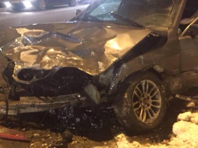 Серьезное ДТП в центре Кишинева: 4 человека попали в больницу