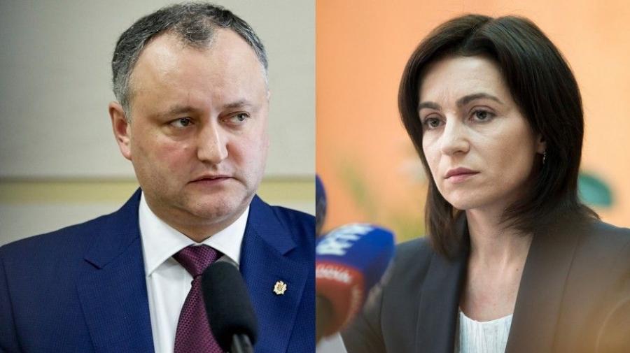 Майя Санду пригласила Игоря Додона на публичные дебаты