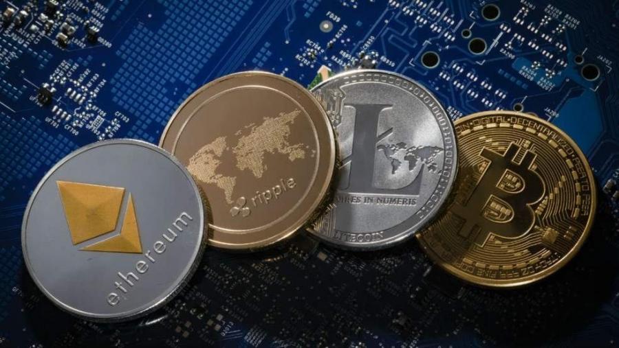 Cele mai mari 10 criptomonede, în funcție de capitalizarea de piață